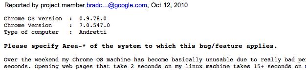 Google Chrome Andretti