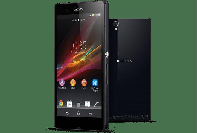 Sony Xperia Z Zwart