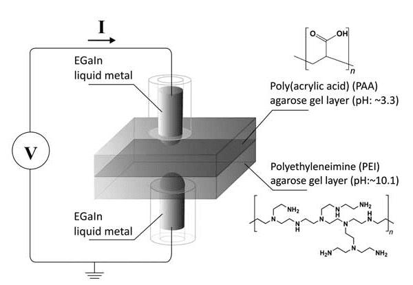 Memristor met gel
