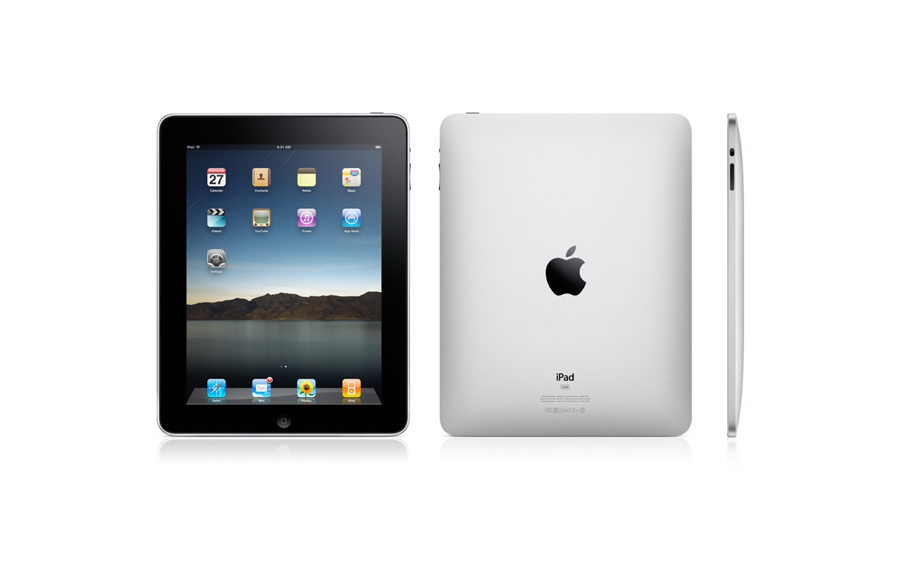 Apple iPad (productfoto's)
