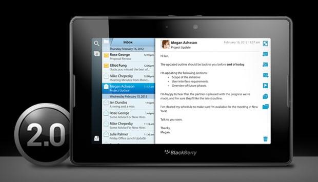 PlayBook OS 2.0 - aankondiging
