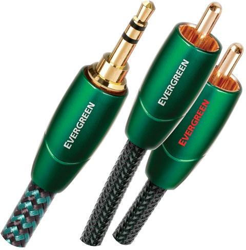 AudioQuest 16m Evergreen 3.5mm - 2xRCA