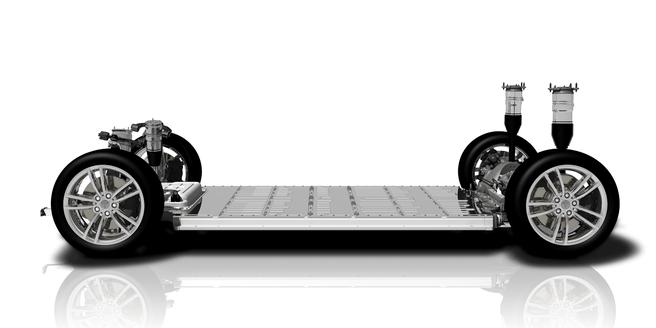 Tesla Model S en X platform