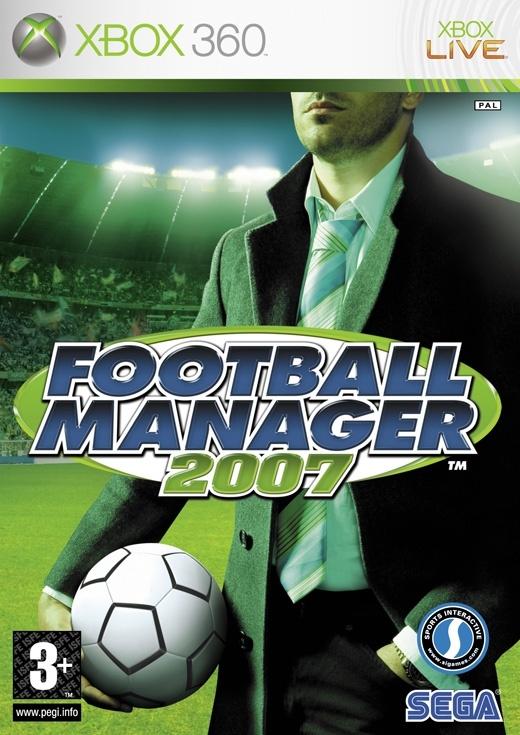 Packshot voor Football Manager 2007