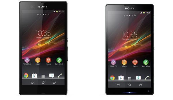 Sony Xperia Z en ZL