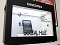 "Samsung 22"" transparant display"