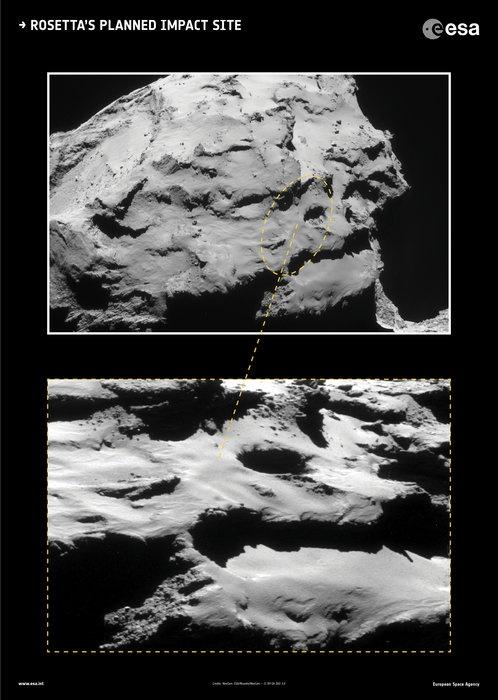 Rosetta's neerstortplek