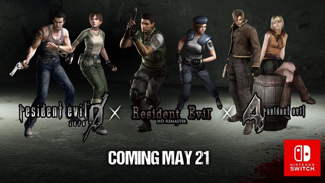 Resident Evil voor Switch