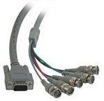 CablesToGo Video HD15M / 5-BNC M cable