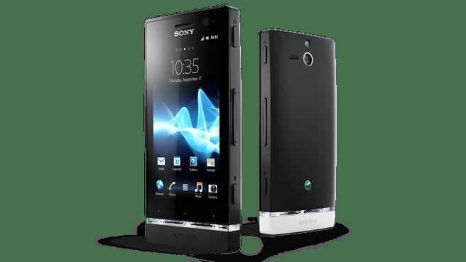 Sony Xperia U (ST25i) Zwart