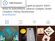 Instagram meerdere accounts