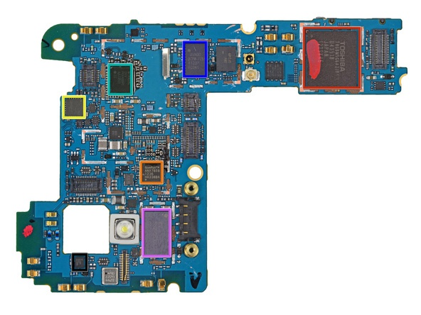 Nexus 4 moederbord