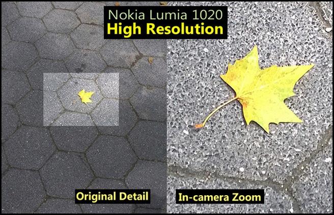 Lumia 1020 zoom