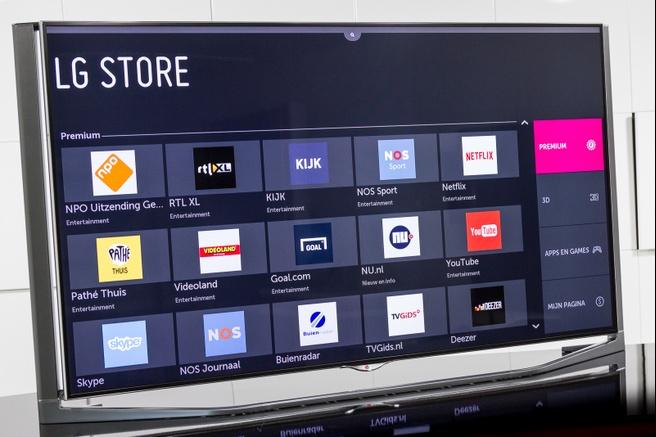 LG WebOS Store