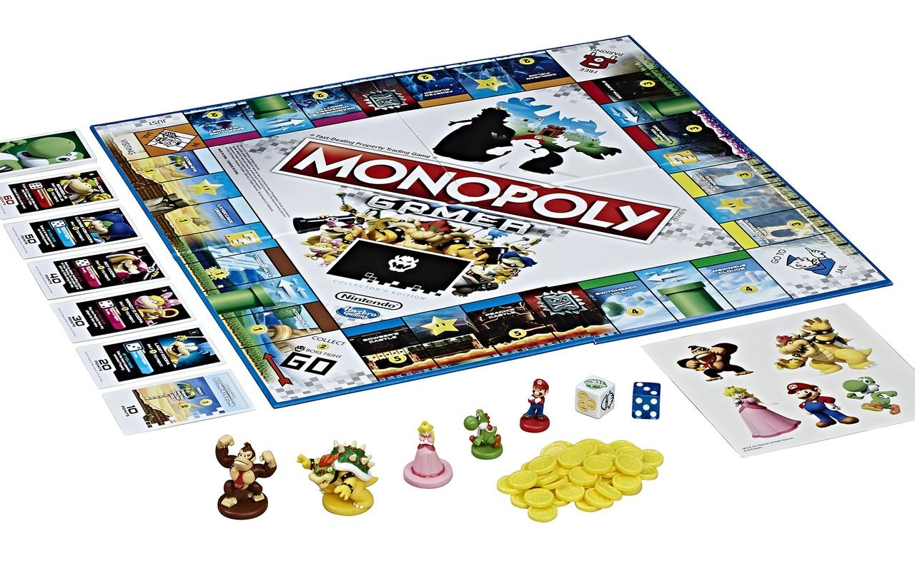 Mario-versie van Monopoly