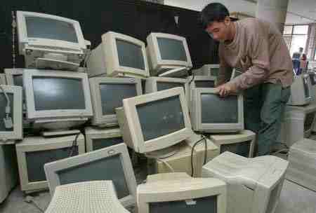 CRT-schermen
