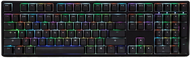 Ducky ONE RGB DKON1708ST Zwart (Qwerty US, Cherry MX Red)