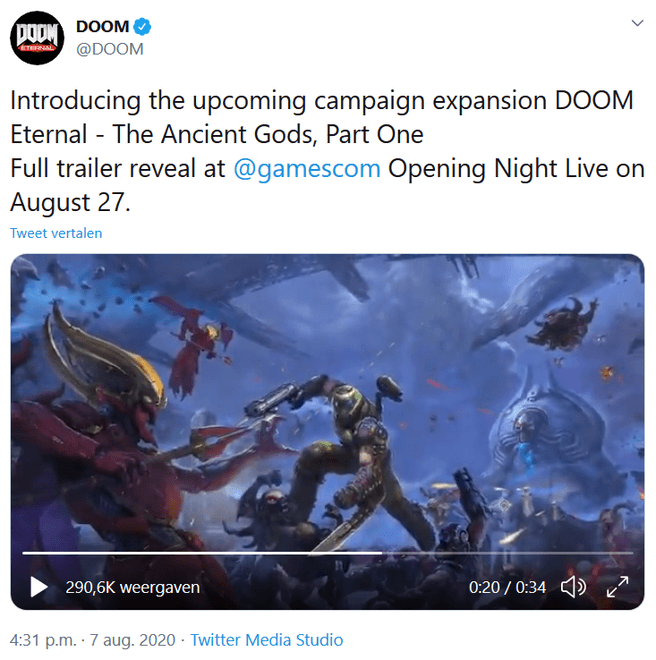 Doom Eternal sp dlc teaser