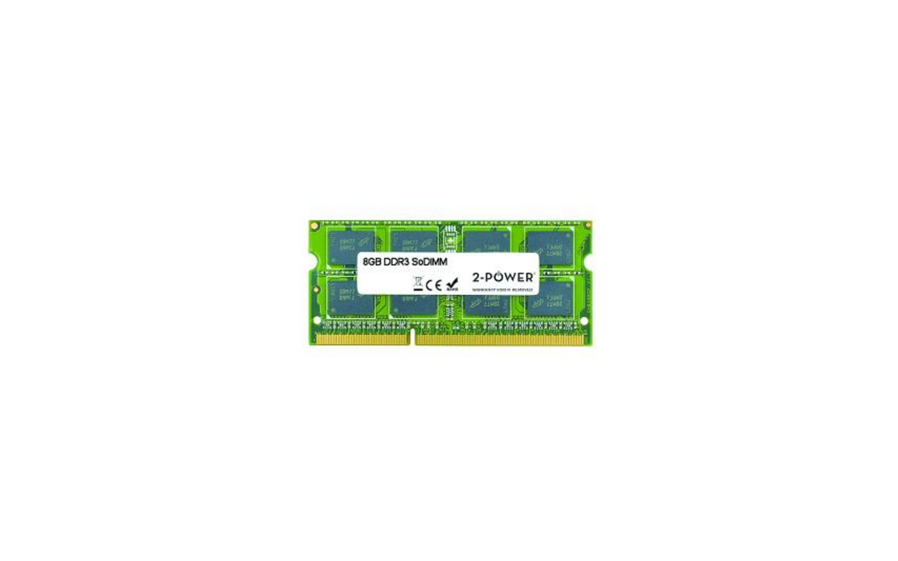 2-Power 8GB MultiSpeed SoDIMM
