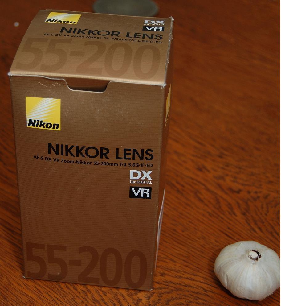 De doos van de 55-200 mm