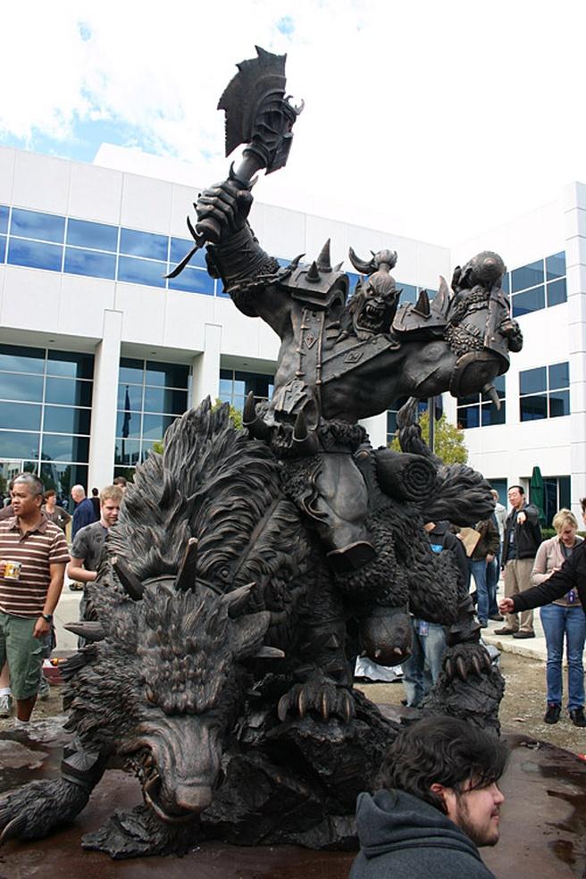 De campus van Blizzard