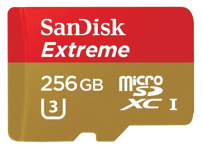 Sandisk micro-sdxc 256GB Extreme