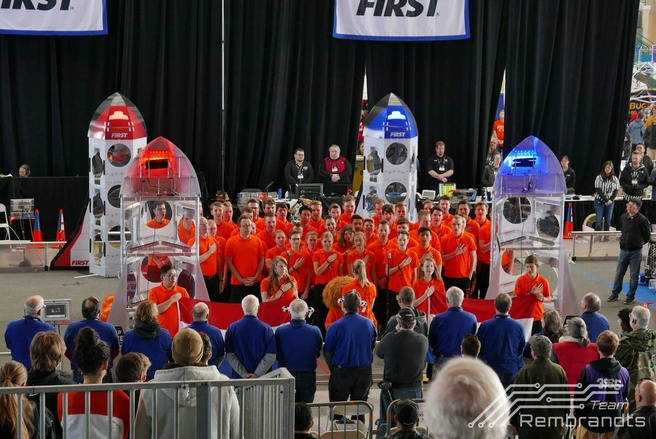 Team Rembrandts FRC 2019