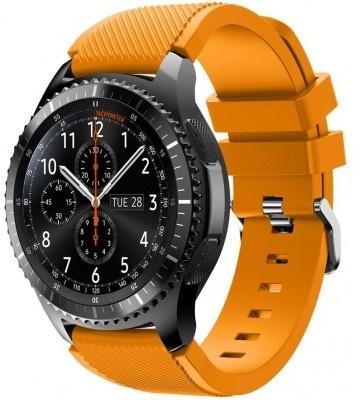 qMust Sport armband voor Samsung Gear S3 Classic / Frontier - fel oranje