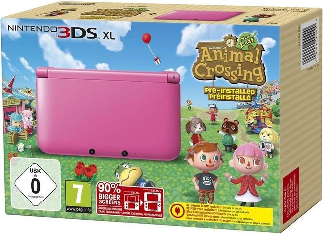 Nintendo 3DS XL + Animal Crossing Roze