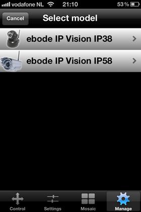 Ebode IOS App. voorbeeld 5