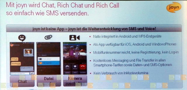 T-Mobile-slide over Joyn
