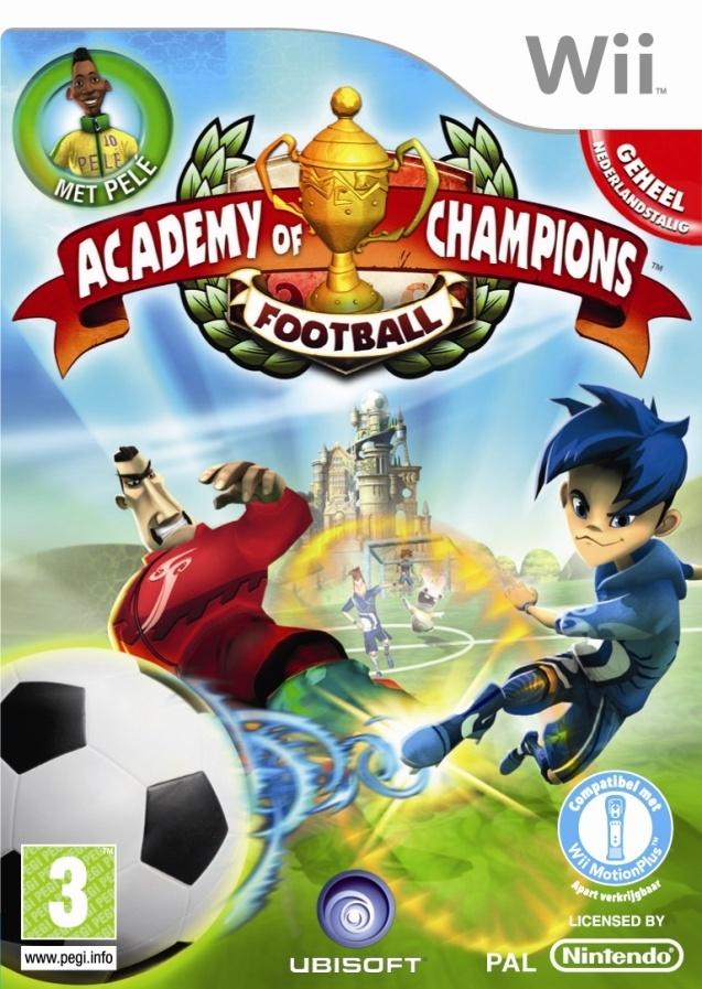 Packshot voor Academy of Champions