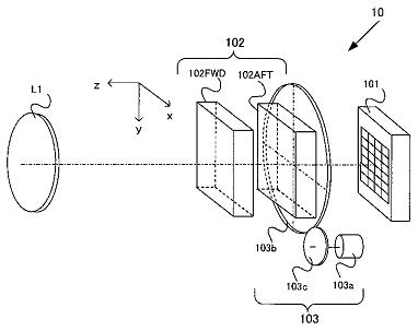 Nikon patent laagdoorlaatfilter aan uit