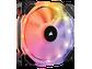 Goedkoopste Corsair HD120 RGB LED (3 stuks met PWM-controller), 120mm