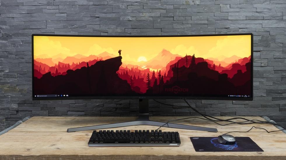 Samsung 32:9-monitor
