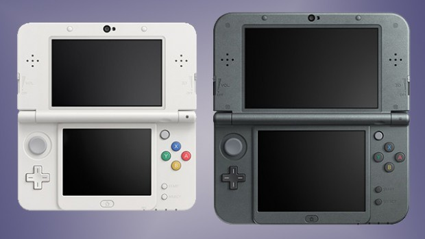 Links de New 3DS, rechts de New 3DS XL