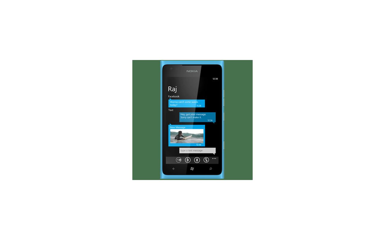 Nokia Lumia 900 Blauw