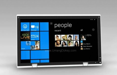 Windows Phone 7 tablet
