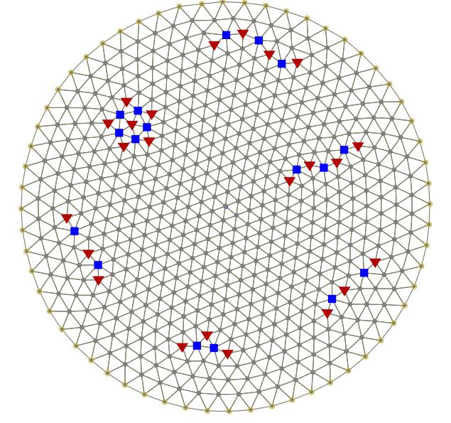 Wigner-kristal Bron: wikipedia