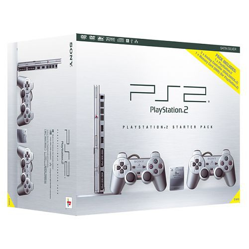 Sony PlayStation 2 Starter Pack Zilver