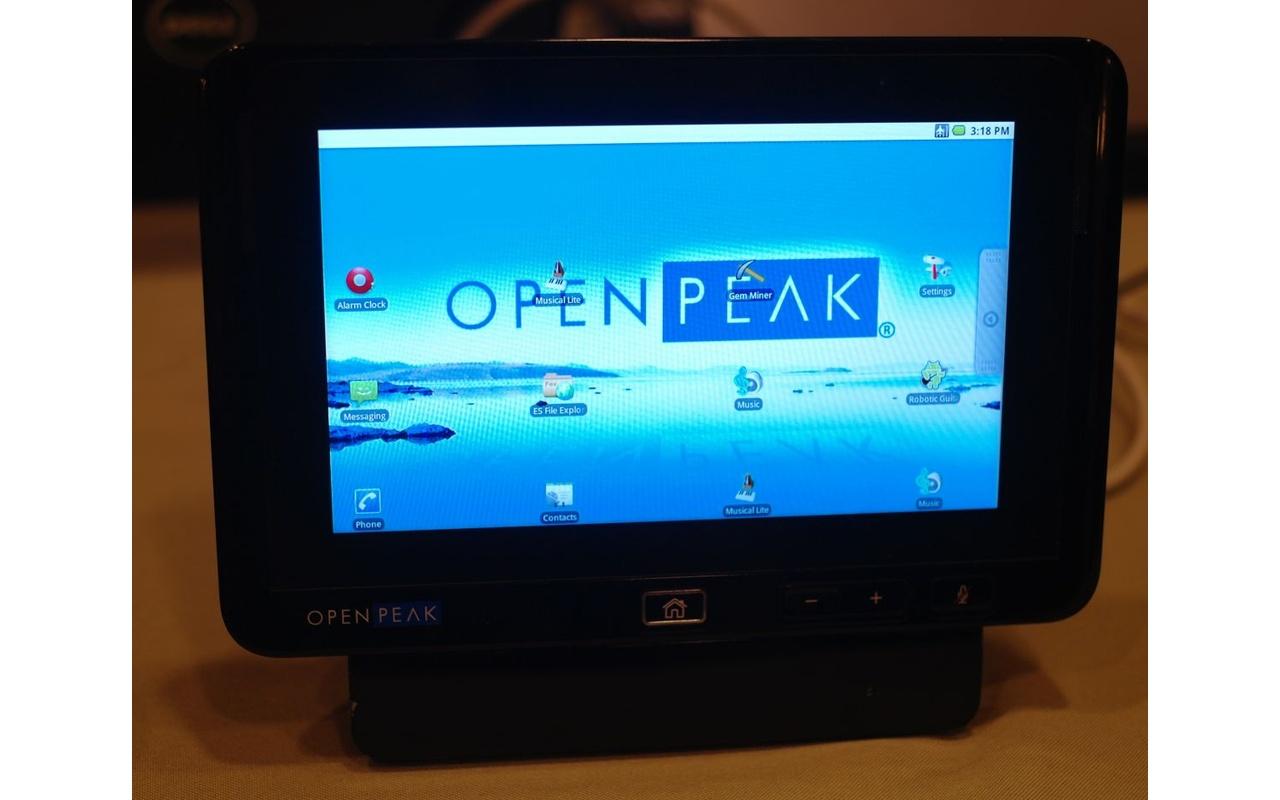 OpenPeak tablet prototype