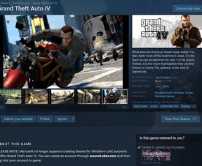 GTA IV verkoopstop januari '20