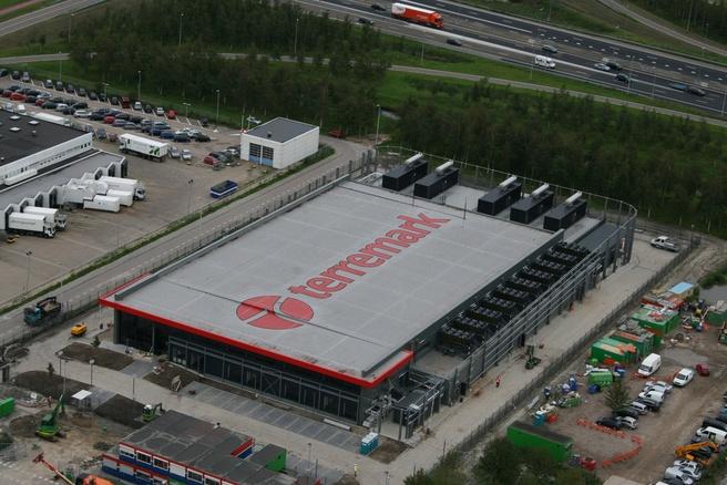 Nieuw datacenter van Terremark bij Schiphol