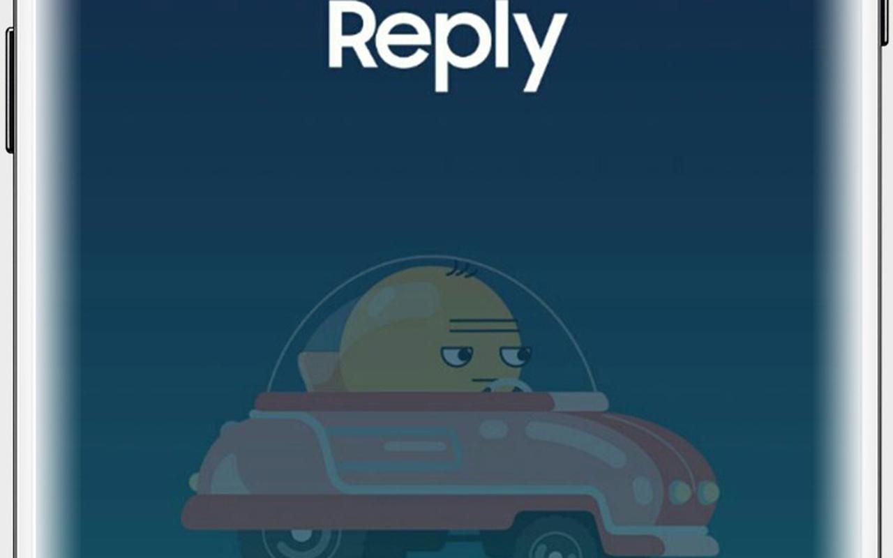 Samsung In Traffic Reply