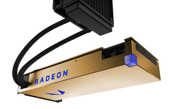 AMD Radeon Vega Frontier Edition met waterkoeling