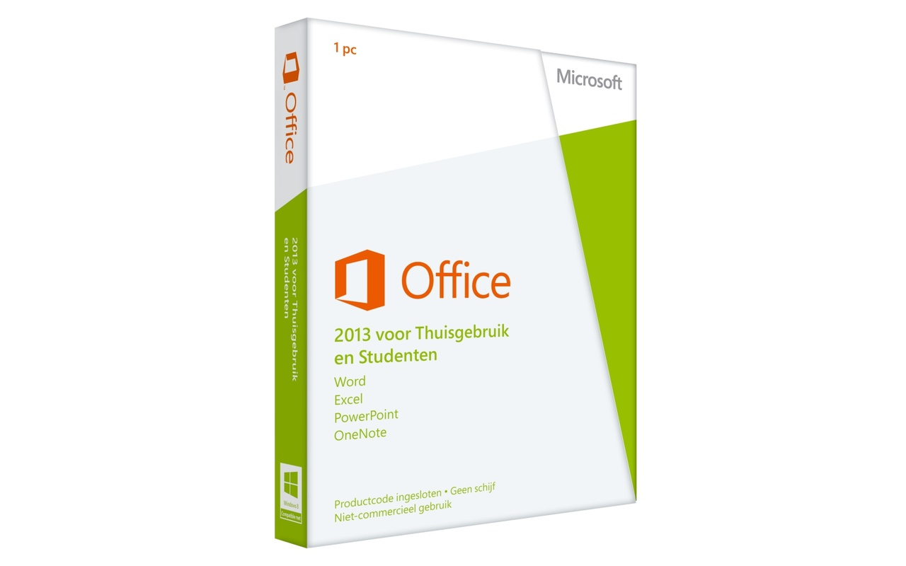 Microsoft Office 2013 Home & Student UK