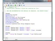 Inno Setup 5.4.3 screenshot (481 pix)