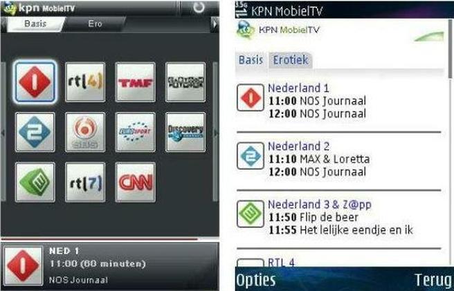 Uit de oude doos: MobielTV van KPN