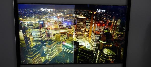 Samsung S9 full led local dimming hoger contrast