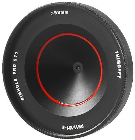 Thingyfy Pinhole Pro S Fixed aperture Lens voor Nikon F